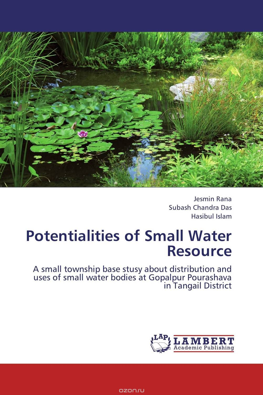 Potentialities of Small Water Resource